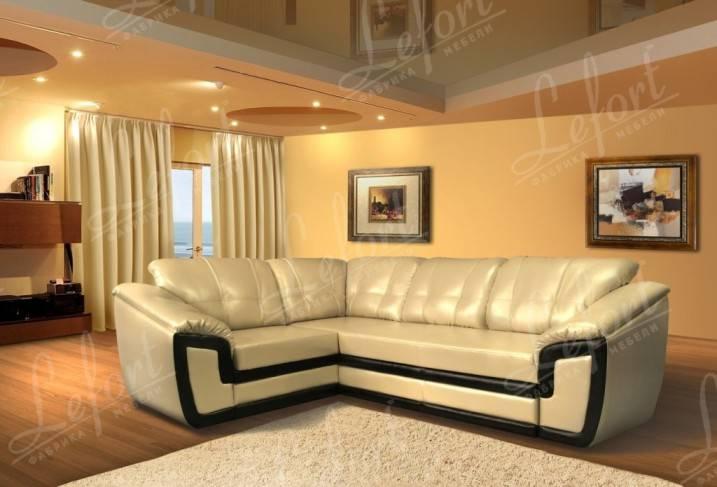 Угловой диван Премьер 5 подушек