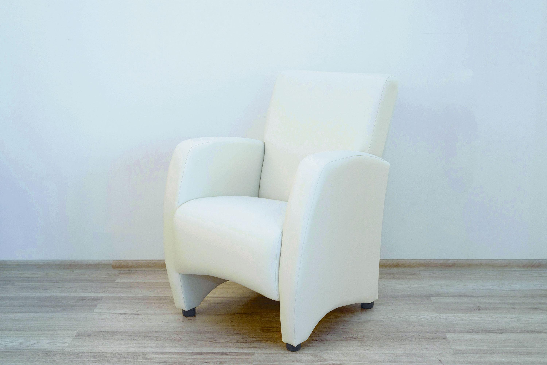 Кресло Синди (белая экокожа)